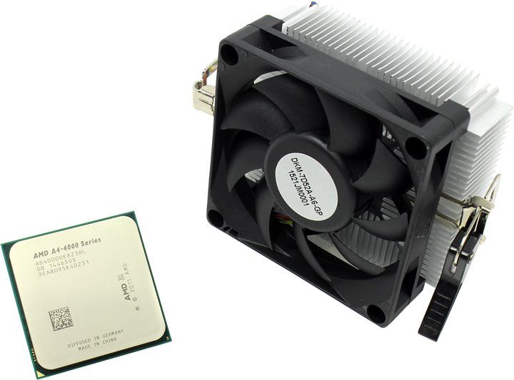 Процессор AMD A4 4000 BOX SocketFM2 (AD4000OKHLBOX)